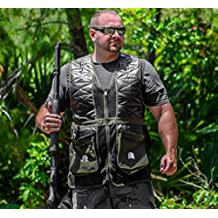 Challenger Shooting Vest Sporting Clays Pigeon Trap Skeet - Sizes M thru 2XL