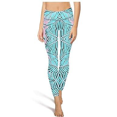 Amazon.com: Leggings deportivos para mujer, yoga, palmeras ...