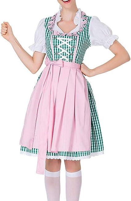 bloatboy Disfraz de Tirolesa Mujer con Aspecto Tradicional ...