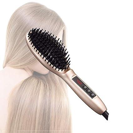 Hairlife Cepillo de la enderezadora del Pelo del Peine del Calor del Calor,Masaje alisador