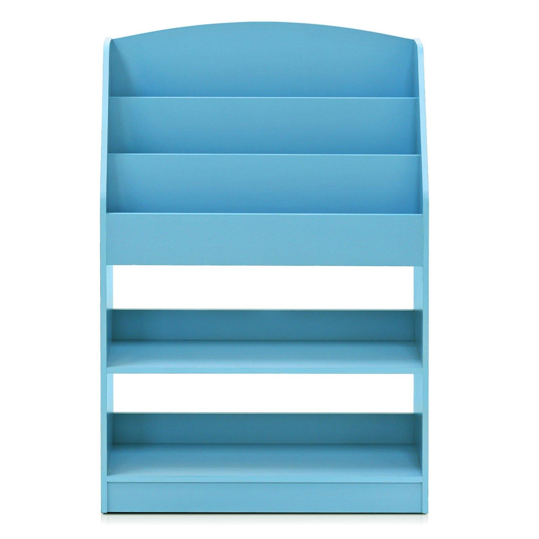 Furinno FR16118LB KidKanac Bookshelf, Light Blue by Furinno (Image #4)