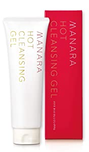 MANARA Hot Cleansing Gel, Facial Cleanser for Dry & Sensitive Skin, Hydrate & Clear Pores with Natural Ingredients, Paraben Free, Japanese cleanser 6.76 fl. oz.