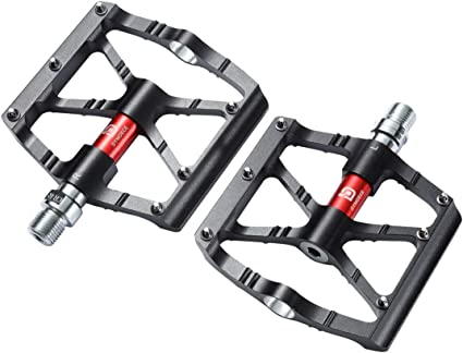 Durable Aluminum Alloy Mountain Bike Folding Pedals Non-slip For Bicycle T