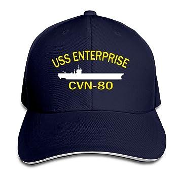 YSC-Dier USS Enterprise CVN-Blue Gorra de béisbol 80 Marina: Amazon.es: Deportes y aire libre