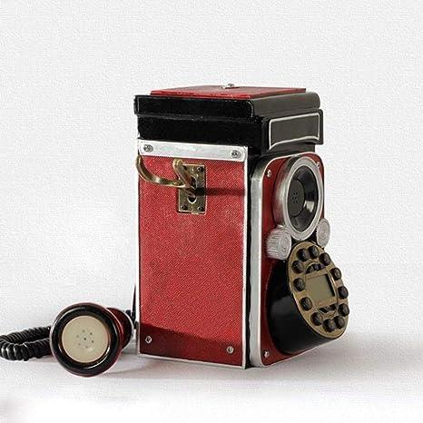CN Teléfonos con Cable Teléfono Europeo Colección de Decoración ...