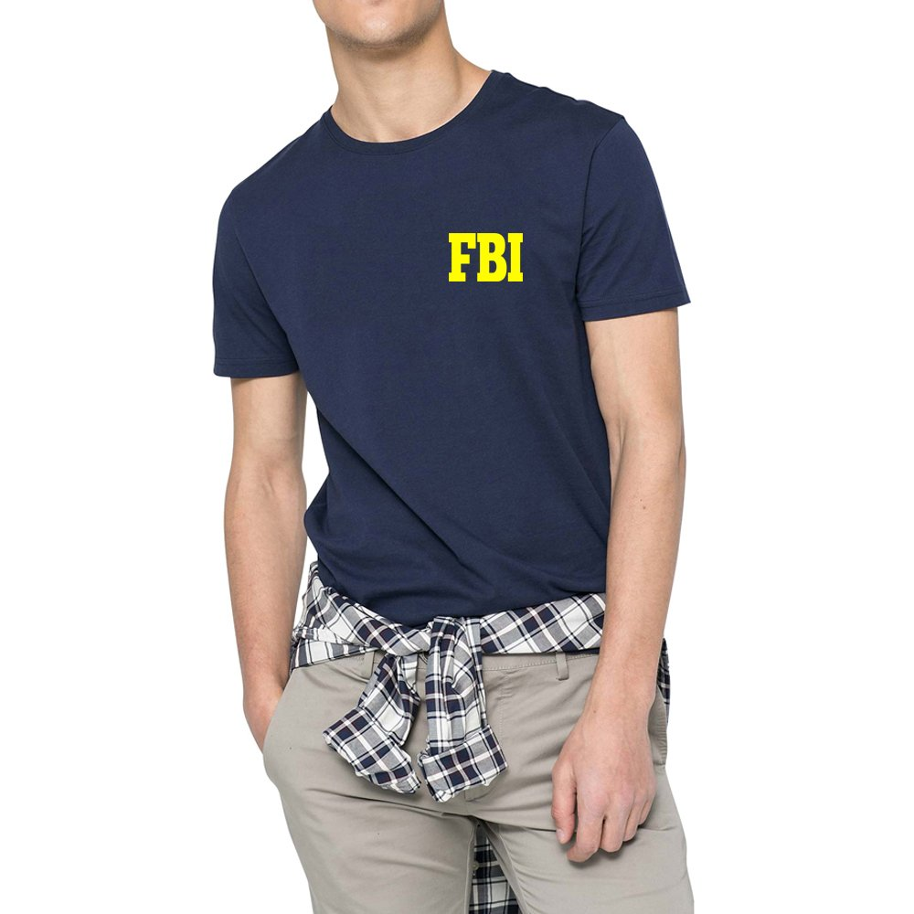 Loo Show Fbi Federal Agent Casual Crew T Shirts Funny Tee