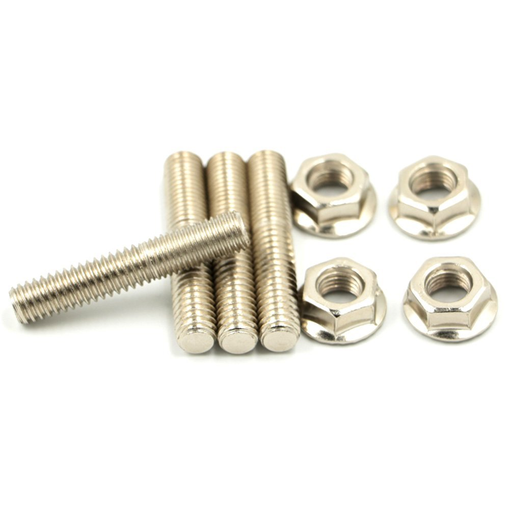 Alpha Rider Exhaust Studs Nuts for 1984-2015 Harley Big Twin 1986-2015 Sportster XL