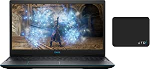 Dell_G3 3590 15.6†Full HD Gaming Laptop - Intel Quad-Core i5-9300H up to 4.1GHz - GeForce GTX 1660Ti (16GB DDR4 RAM | 512GB SSD) - Black Bluetooth WiFi Win 10 Home Bundle with JTD Pad