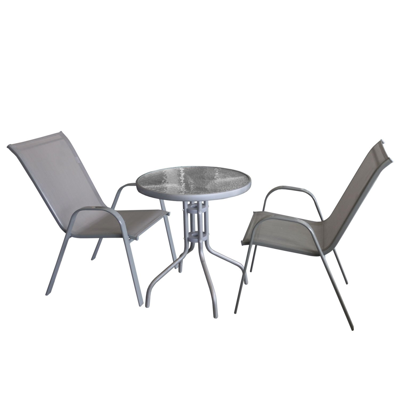 Balkonmöbel Set Metall 2021
