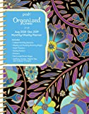 Posh: Organized Living 2018-2019 Monthly/Weekly Planning Calendar: Midnight Garden