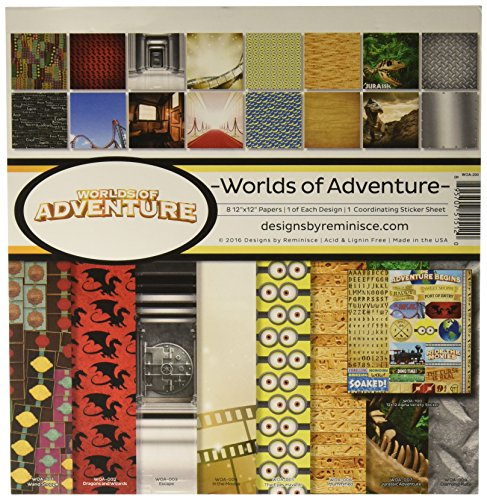 Reminisce Worlds of Adventure Collection Kit -