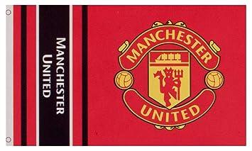 Manchester United Bandera Del Escudo Fc Autentico Epl