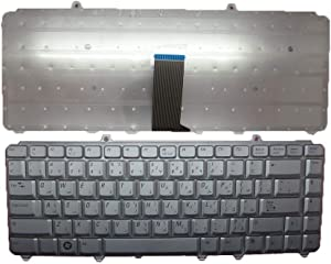 Laptop Keyboard for DELL Inspiron 1318 1420 1520 1521 1525 1526 1545 1546 AR Arabic Silver New and Original