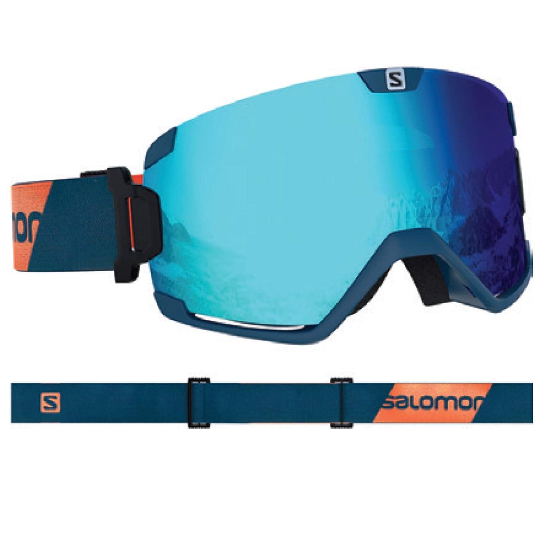 サロモン(SALOMON) スキー スノーボード ゴーグル COSMIC (コズミック) Moroccan 青/M.青