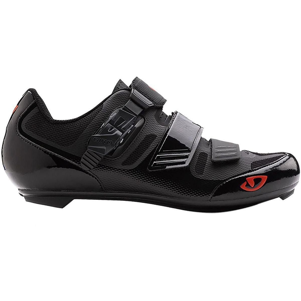 Giro Apeckx II Cycling Shoe - Men's Black/Bright Red, 39.0