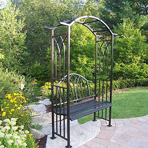 Oakland Living Corporation London Arbor with Bench ()