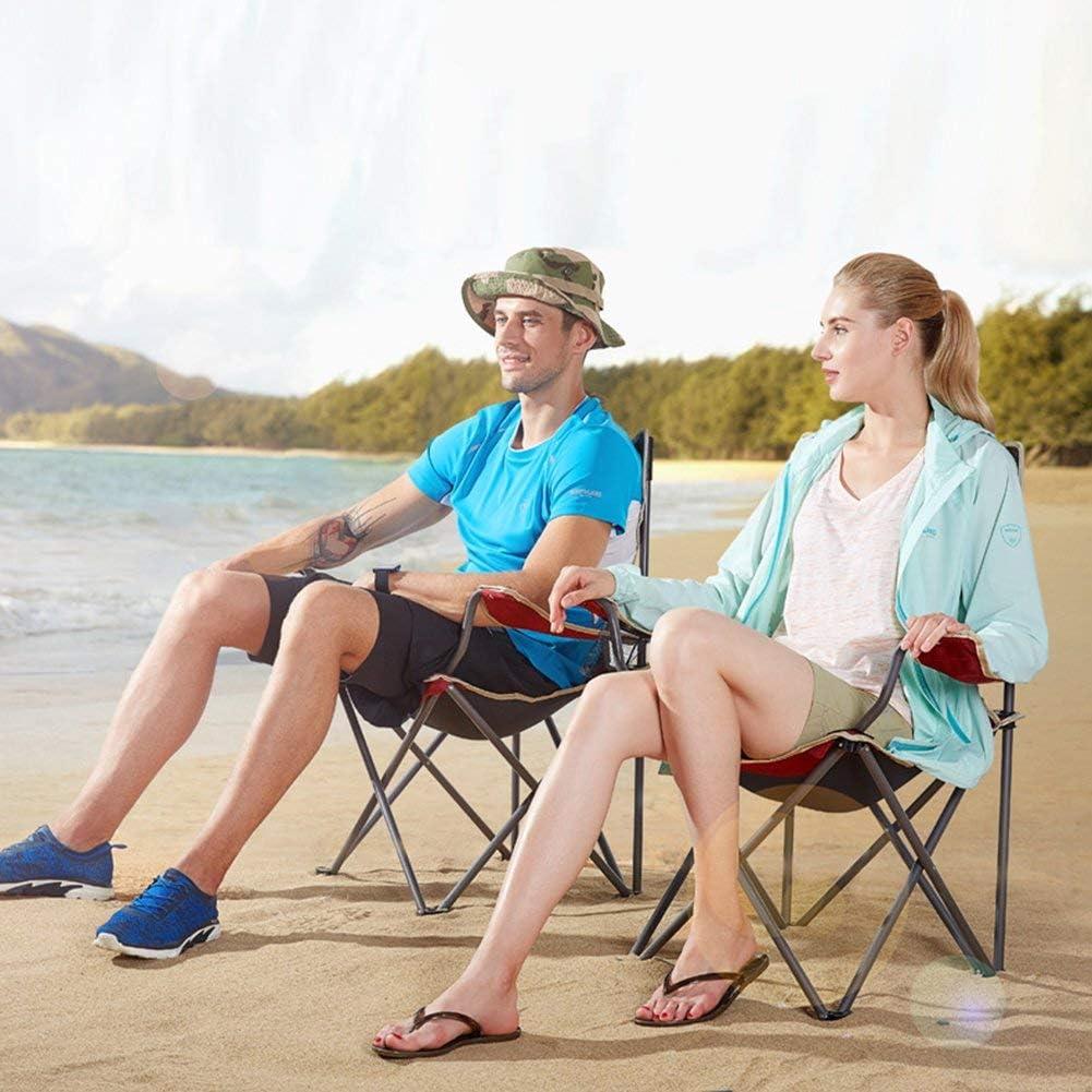 Plage Chaise Heavy Duty et Camping Portable Lounge Détente Voyage No Assembly Required Lawn Patio Chaises longues (Color : C)