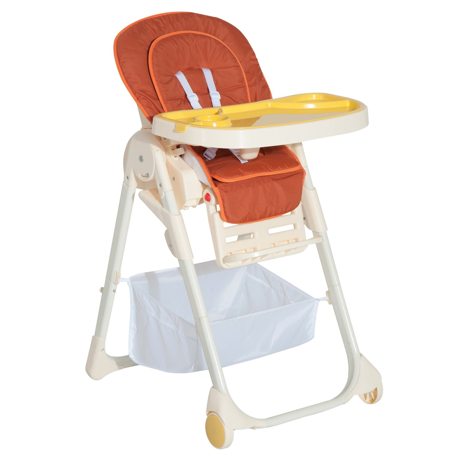 HOM Baby High Chair Kids Infant Toddler Folding Feeding pact