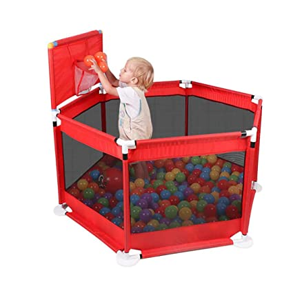 Amazon Com Yxsd 6 Panel Baby Playpen Toddler Play Yard With