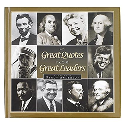 Amazoncom Great Quotes From Great Leaders Gift Book With Dvd Home