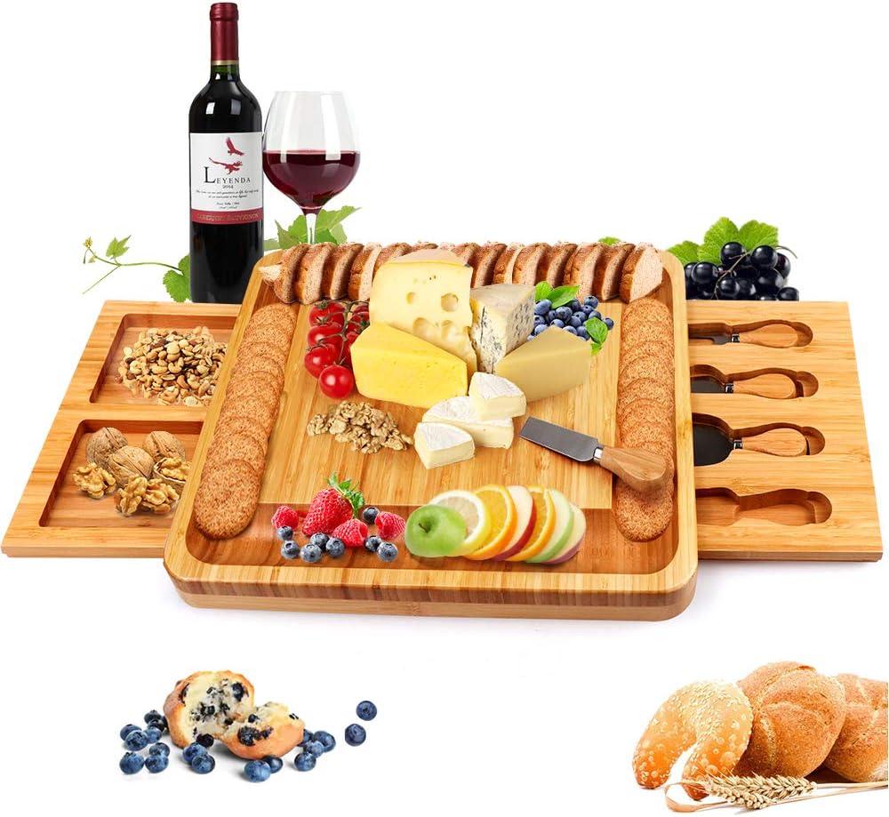 cheese platter  cutting board