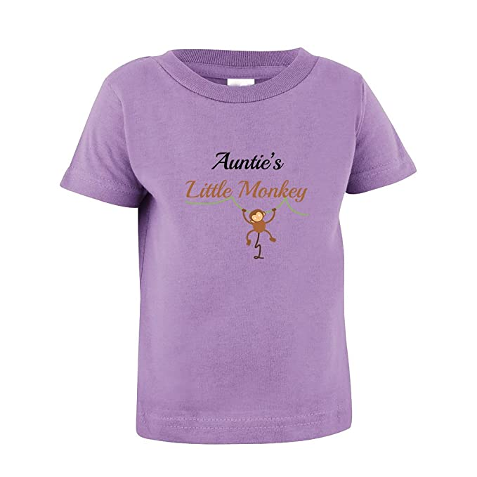 6f8d65d026aa9b Image Unavailable. Image not available for. Color  Cute Rascals Auntie s  Little Monkey Toddler Baby Kid T-Shirt ...