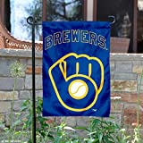 WinCraft Milwaukee Brewers Retro Throwback Glove Double Sided Garden Flag