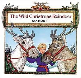 the wild christmas reindeer jan brett 9780698116528 amazoncom books - Christmas Reindeer