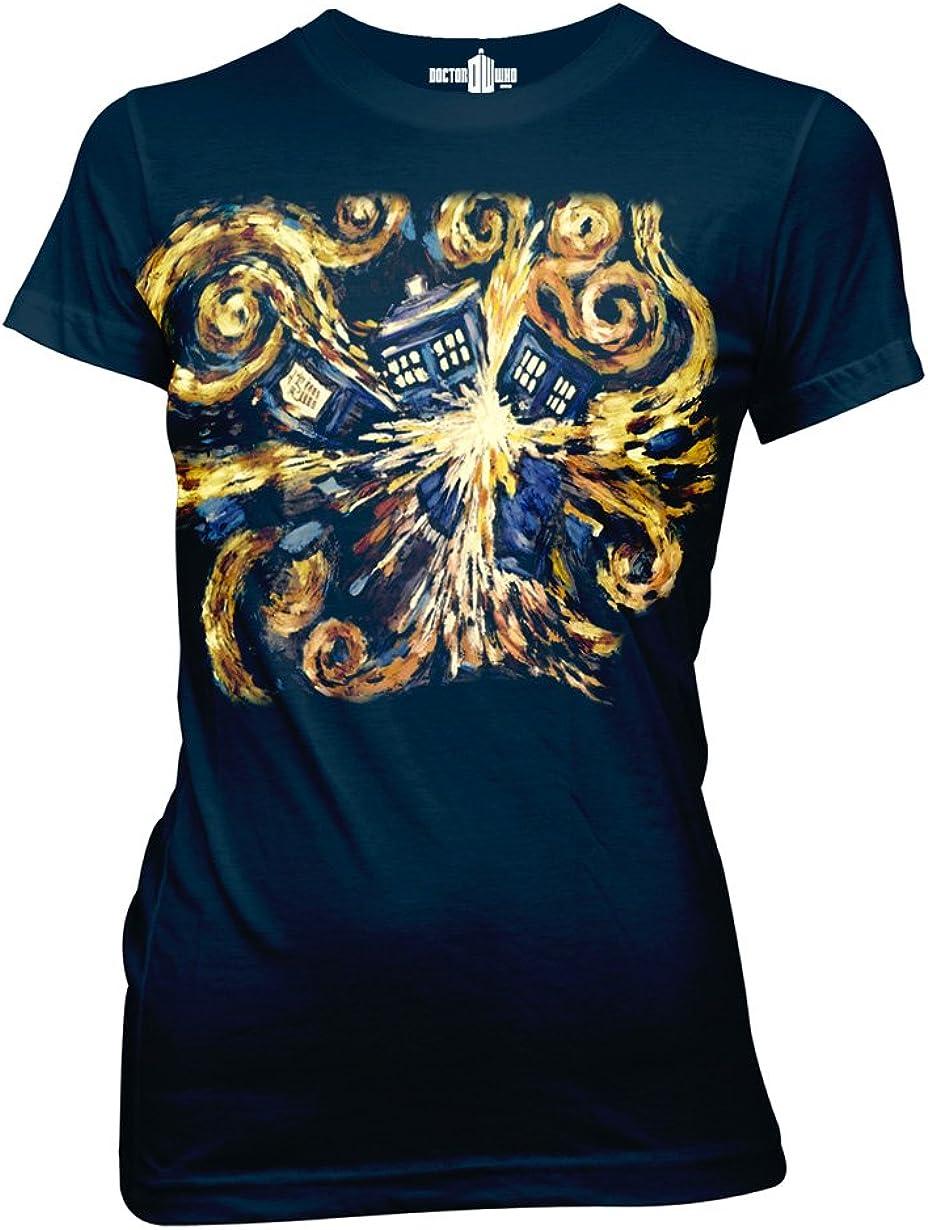 Ripple Junction Doctor Who Van Gogh The Pandoric Opens Junior T-Shirt