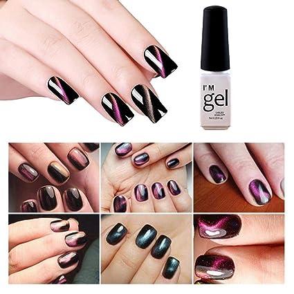 Sue-Supply Esmalte de uñas Gel de Ojos de Gato Esmalte de uñas Manicura Pegamento