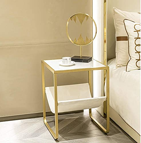 HAWOO Gold End Table