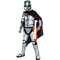 Rubie's Officiële Disney Star Wars Super Deluxe Captain Phasma, Kinderkostuum - Klein