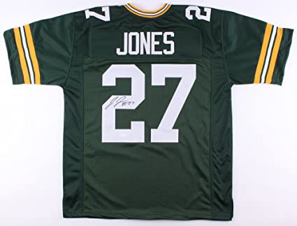 outlet store 5a0c4 b3012 Josh Jones Signed Green Bay Packers Jersey (JSA) at Amazon's ...