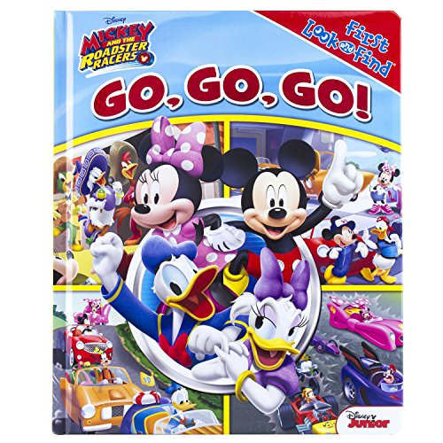 Disney Junior - Mickey and the Roadster Racers Go, Go, Go! - Little First Look and Find