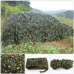2 X 3m Woodland Filets de Camouflage Militaire Tactique Pour Camping Chasse Tournage Vert 8