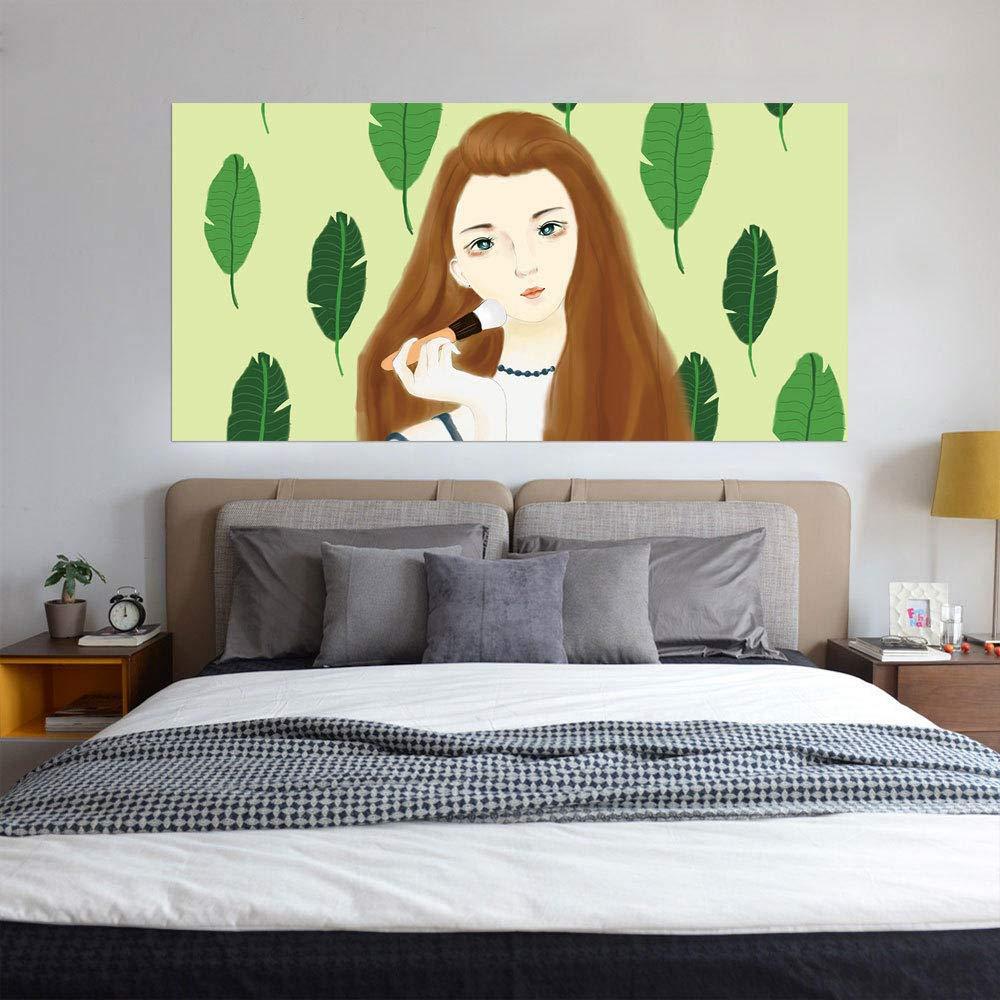 3D Creative Wall Sticker Bedside Sticker Makeup Girl Home Decoration Personality Wallpaper Mural Applique 180Cmx90Cm Qmglbg