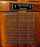 The Good Doctor - 8x10 Poem Print - Great Doctor Gift or Medical Office Art