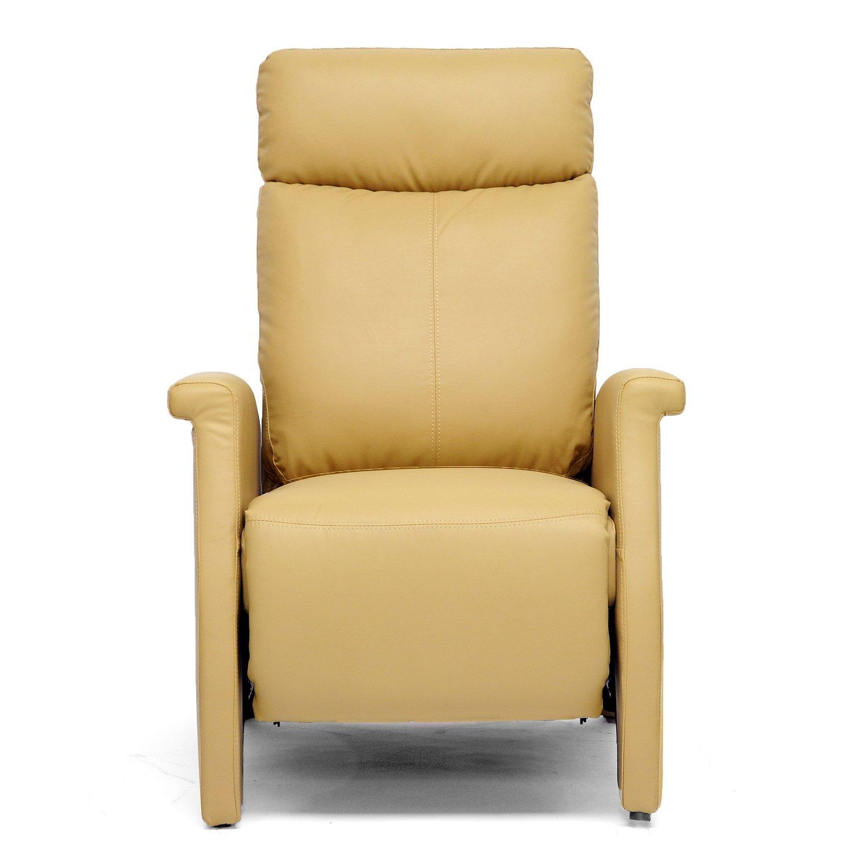 Amazon Baxton Studio Sequim Modern Recliner Club Chair Tan
