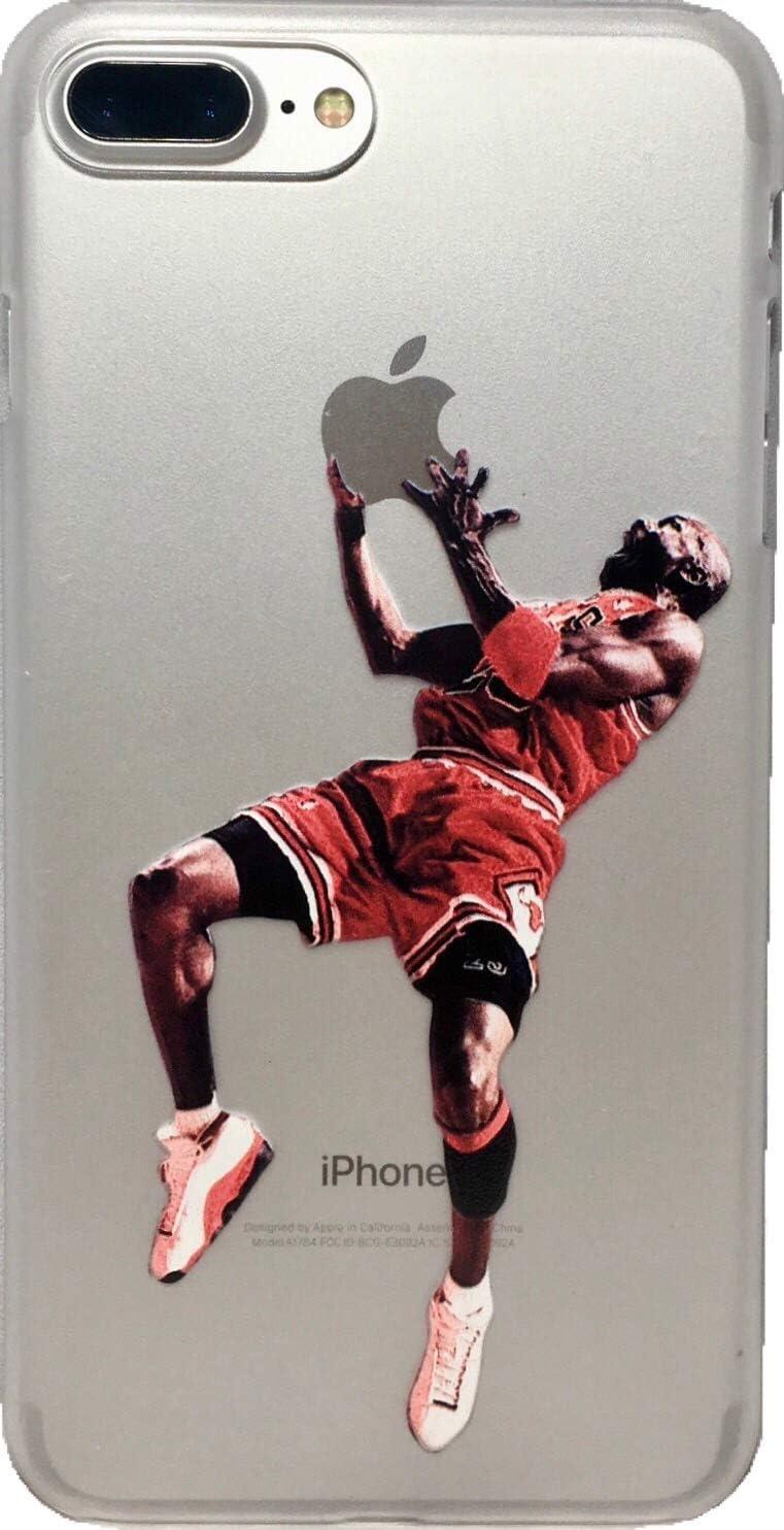 ECHC Favorite Basketball Player Hard Plastic Case Compatible for iPhone (Jordan Reverse Jam, iPhone XR)
