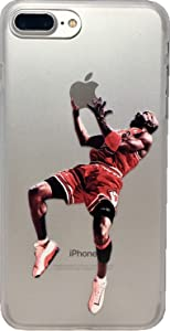 ECHC Favorite Basketball Player Hard Plastic Case Compatible for iPhone (Jordan Reverse Jam, iPhone XR)