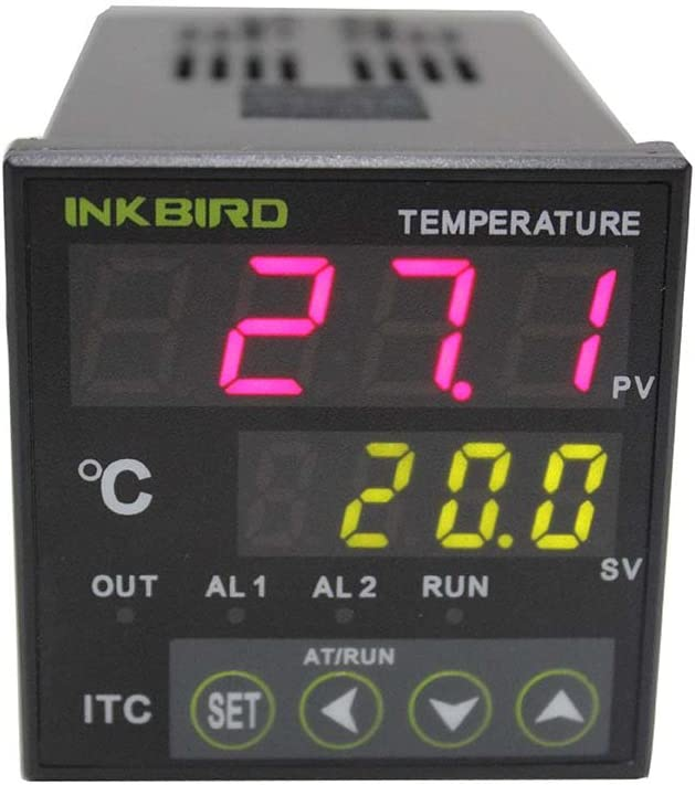 Inkbird PID Temperature Controller with Relay ITC-100RH