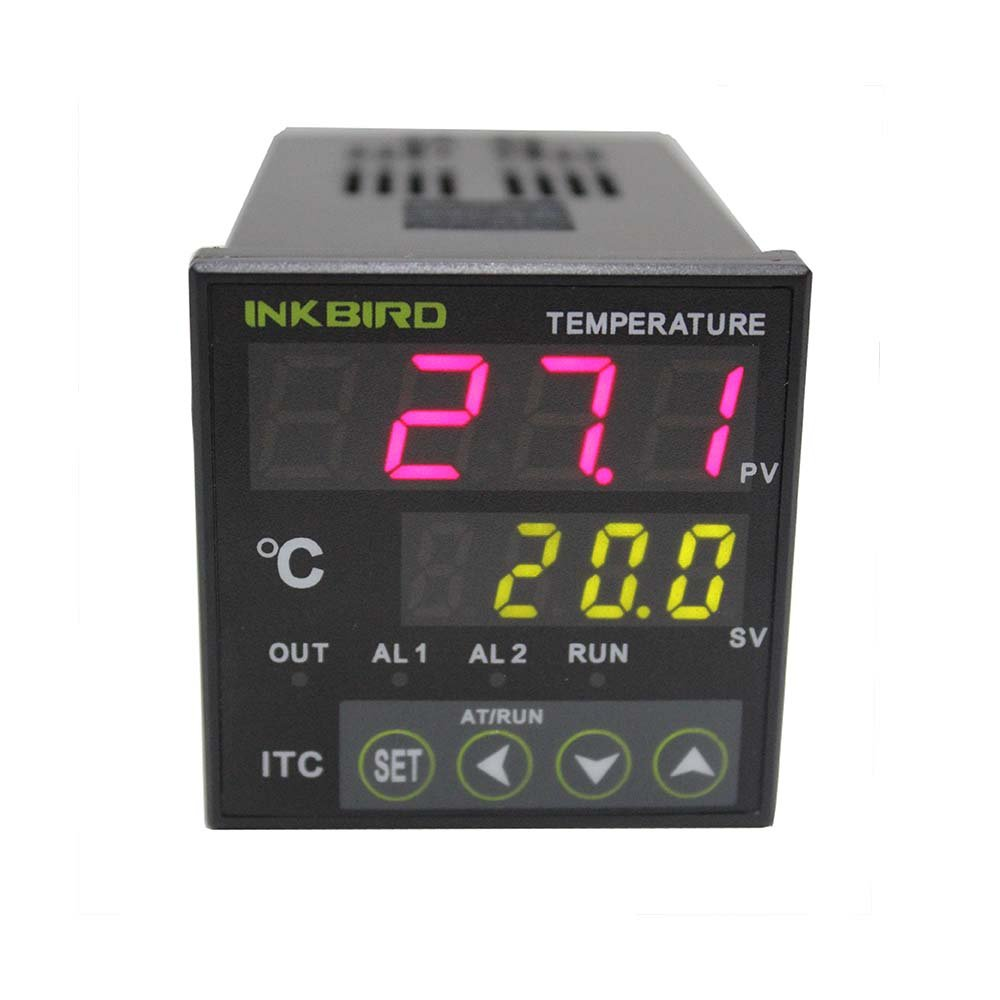 Inkbird Digital PID Temperature Controller on/off Thermostat Ac 12-24V Itc-100VL