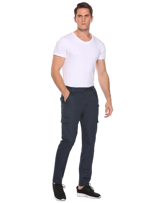 Zeagoo Men's Waterproof Rugged Quick Dry Cargo Work Pants at Amazon Men's  Clothing store:
