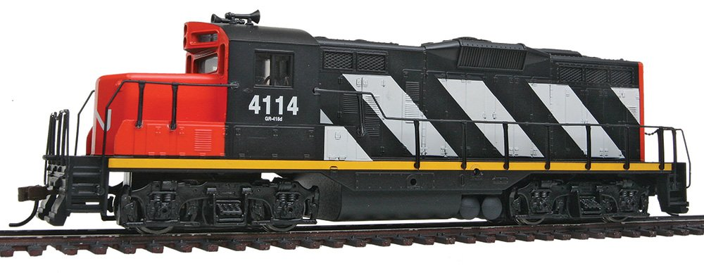 Walthers, Inc. Standard DC Canadian National #4114 Train, Black/White/Red Walthers - Life Like 931-140