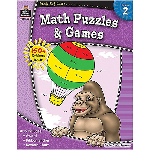 RSL: Math Puzzles & Games (Gr. 2)