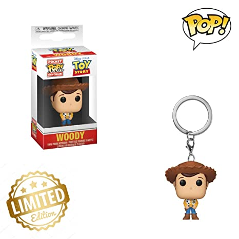 Pop Keychain: Toy Story - Woody 💛Limited Edition