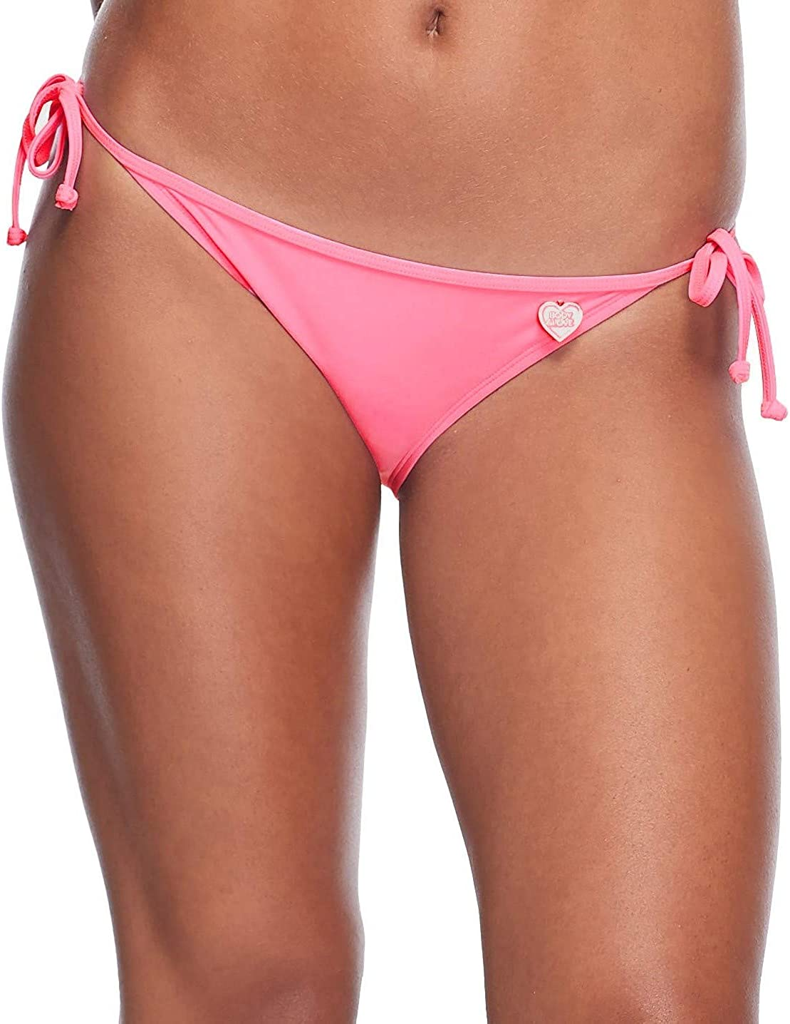 Body Glove Womens Smoothies Tie Side Solid Fuller Coverage Bikini Bottom Swimsuit Bikini Bottoms
