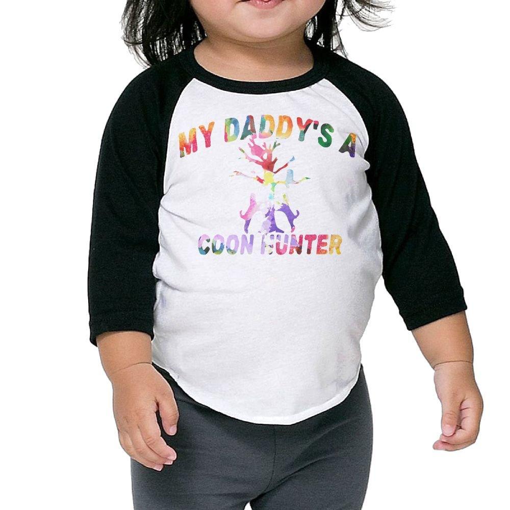 fb761ae9c0783 Amazon.com : Asfbau Bnjazzp Unisex Kids 3/4 Sleeves Raglan Watercolor Keep  Em Treed Coon Hunting T Shirts Child Youth Slim Fit Sports Uniforms :  Sports & ...