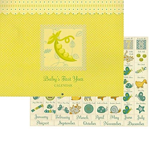 (Sweet Pea Baby's 1st Year Calendar Keepsake)