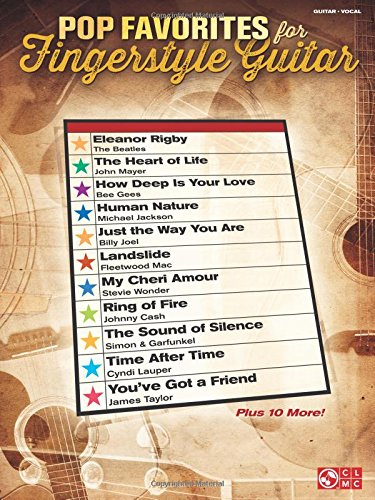 Fingerstyle Guitar Tab Songbook - Pop Favorites for Fingerstyle Guitar